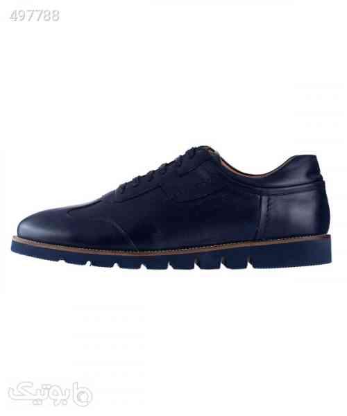 کفش راحتی چرم مردانه لرد Lord مدل Lo-2050 سورمه ای 99 2020