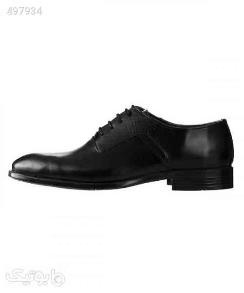 کفش مجلسی مردانه چرم شیفر Shifer مدل 7262A مشکی 99 2020