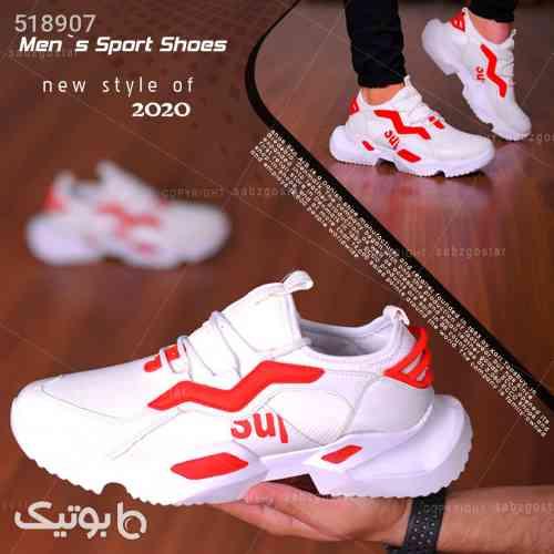 کفش مردانه مدل Alex (سفید،قرمز) قرمز 99 2020