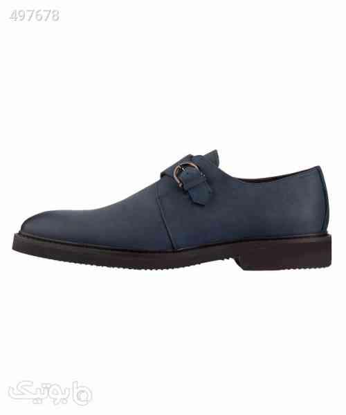 کفش مردانه چرمی لرد Lord مدل Lo-2003-1 سورمه ای 99 2020