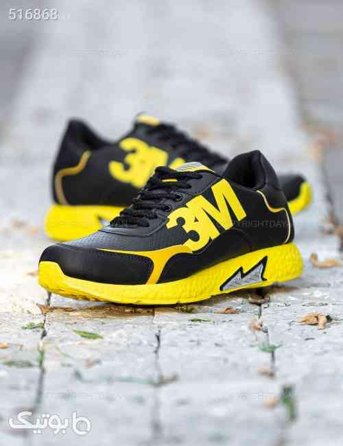 کفش مردانه Adidas مدل 11644 زرد 99 2020