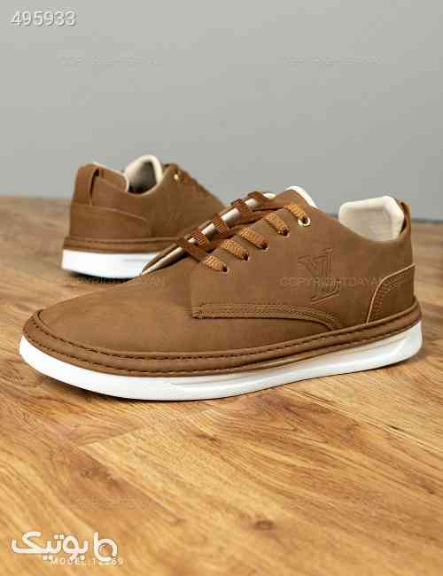 کفش مردانه Louis Vuitton مدل 12269 قهوه ای 99 2020