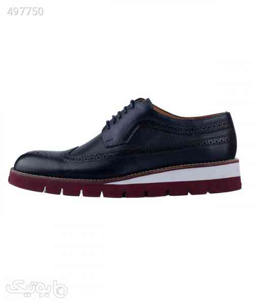 کفش چرم مردانه لرد Lord مدل Lo-2073 سورمه ای 99 2020