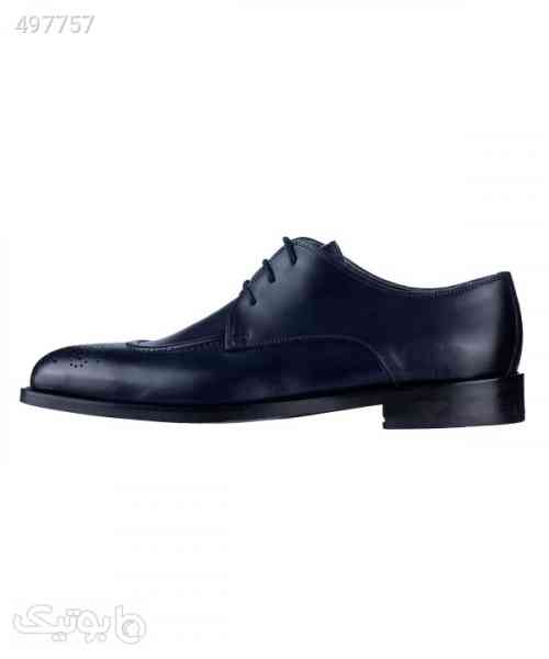 کفش چرم مردانه لرد Lord مدل Lo-2080 سورمه ای 99 2020
