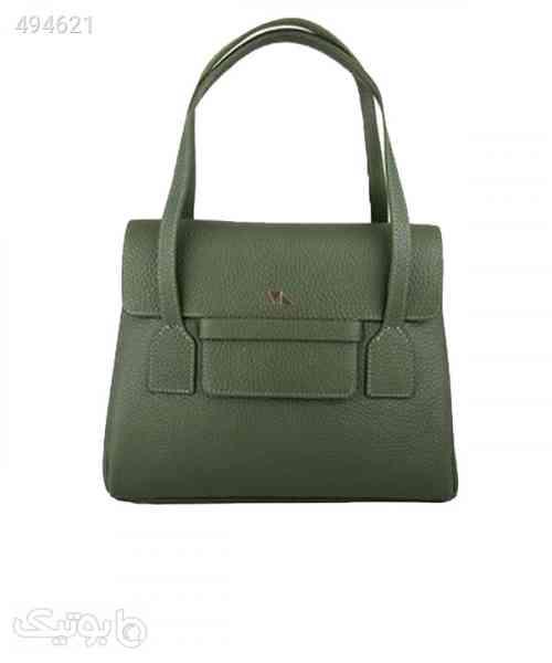 کیف دوشی زنانه چرم مشهد Mashhad leather مدل S0697 سبز 99 2020