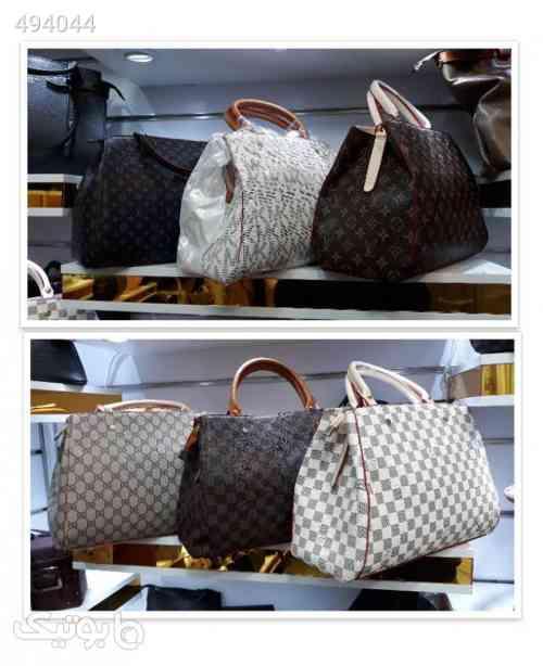 کیف دو دسته زنانه شیک و زیبا سفید 99 2020