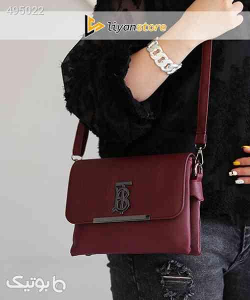 کیف زنانه و دخترانه مدل رودوشی g227 _ big T زرشکی 99 2020