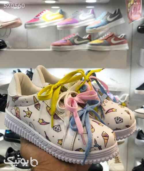 کفش یونی کورن بچگانه سفید 99 2020