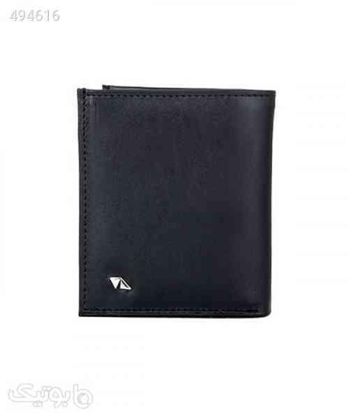 کیف پول مردانه چرم مشهد Mashhad Leather مدل D0518 مشکی 99 2020