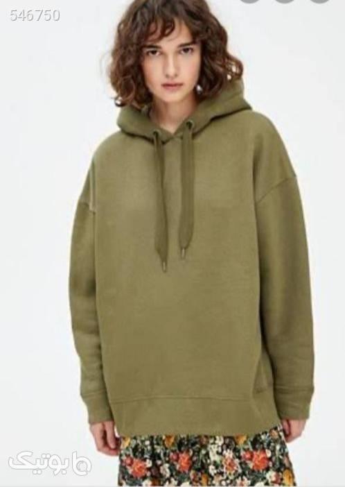 هودی  سبز سوئیشرت زنانه