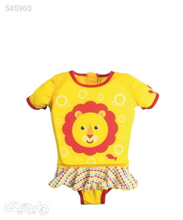 جلیقه نجات کودک بست وی Bestway طرح شیر زرد پوشاک و لوازم شنا زنانه