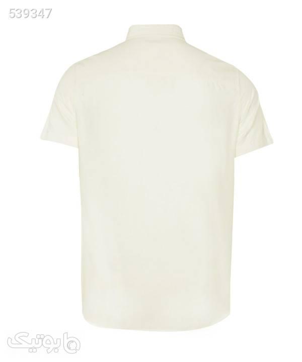 پیراهن مردانه جوتی جینز JootiJeans کد 01533110 سفید پيراهن مردانه
