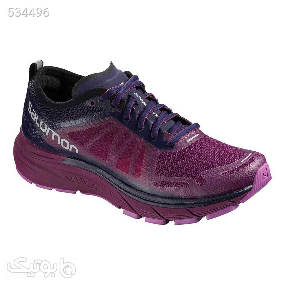 کفش اسپرت زنانه سالومون مدل Salomon Sonic Ra max بنفش كتانی زنانه