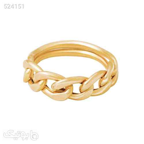 انگشتر طلا 18 عیار زنانه الماسین آذر کد Car03 طلایی 99 2020