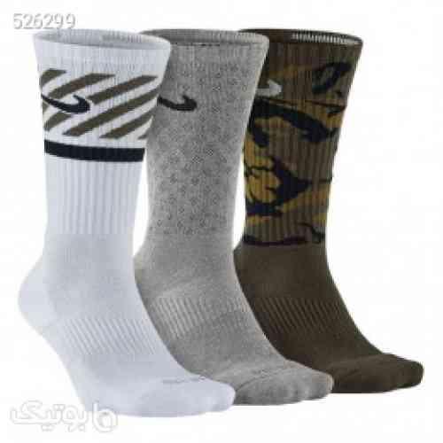 پک سه تایی جوراب مردانه نایک Nike Pack Dri-Fit Triple Fly Socks SX4966-901 طوسی 99 2020