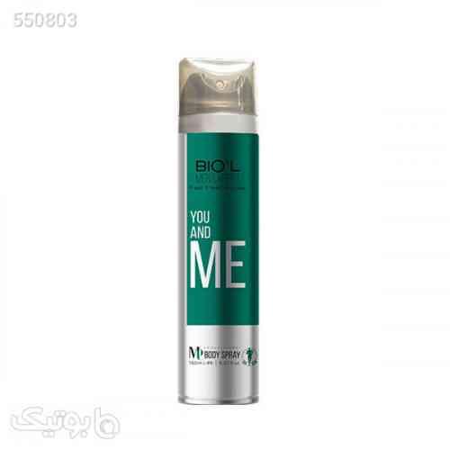 اسپری بدن مردانه بیول مدل YOU AND ME حجم ۱۵۰ میلی لیتر سبز 99 2020
