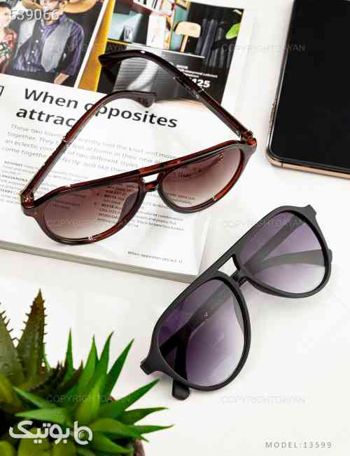 عینک آفتابی Porsche مدل 13599 قهوه ای 99 2020