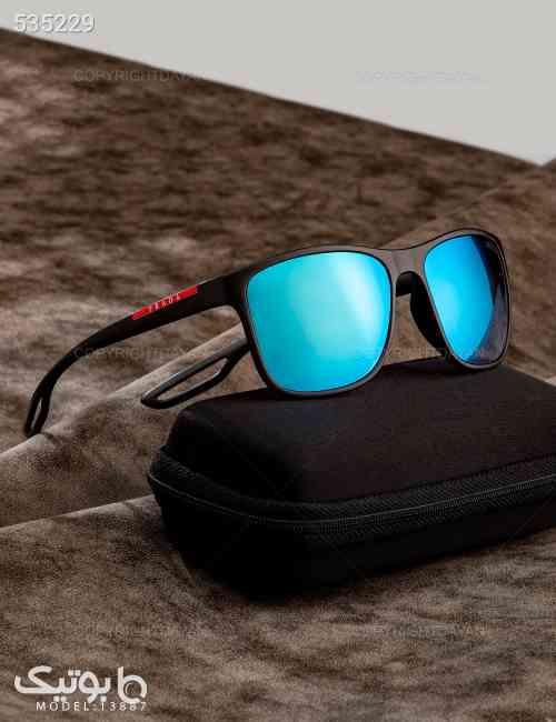 عینک آفتابی Prada مدل 13887 مشکی 99 2020