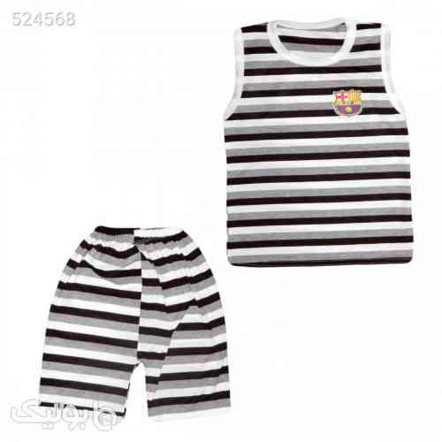 ست تاپ و شلوارک پسرانه کد 111 - لباس کودک پسرانه