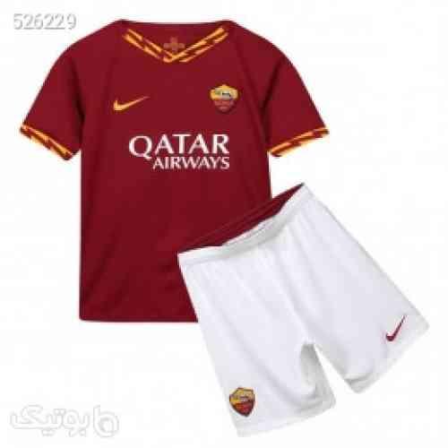 پیراهن شورت بچگانه اول رم As Roma 2019-20 Home Soccer Jersey Kids Shirt+Short قرمز 99 2020