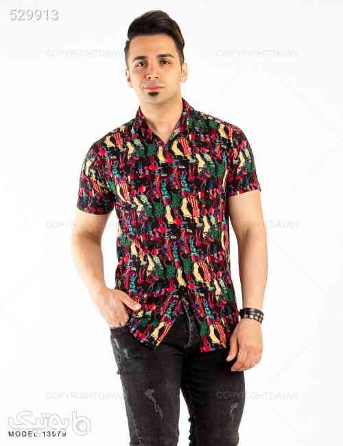 پیراهن مردانه Denver مدل 13979 مشکی 99 2020