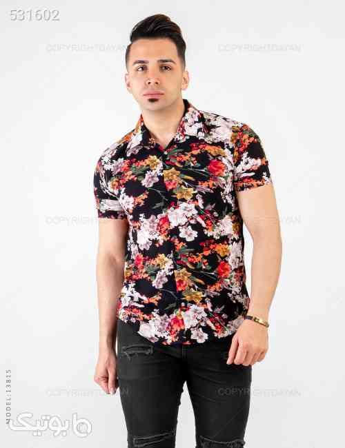 پیراهن مردانه Sevin مدل 13815 مشکی 99 2020