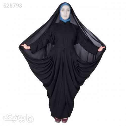 چادر مانتو افرا کرپ کن کن ژرژت شهر حجاب مدل 8063 مشکی 99 2020