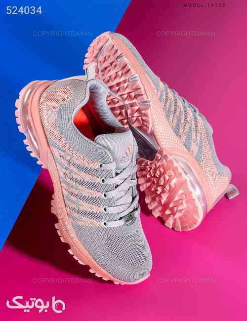 کفش زنانه Adidas مدل 14332 طوسی 99 2020
