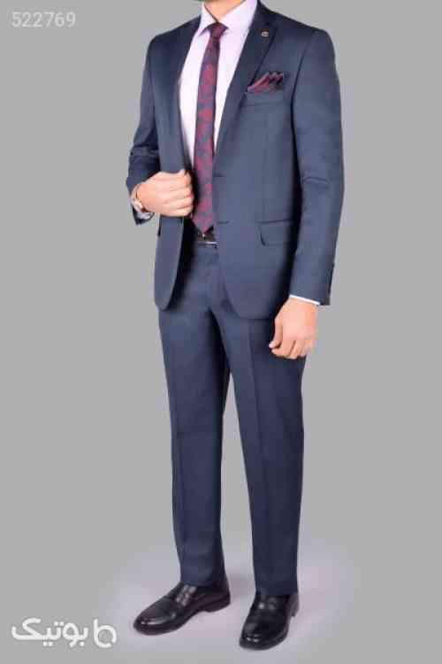 کت و شلوار مردانه مدل دادان سورمه ای 99 2020