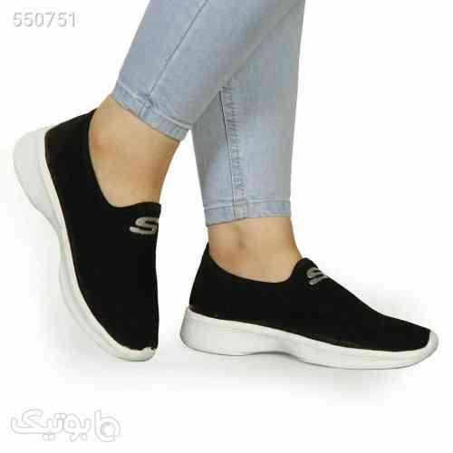 کفش بافت زنانه مشکی 99 2020