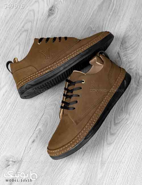 کفش روزمره مردانه  Louis Vuitton مدل 13515 قهوه ای 99 2020