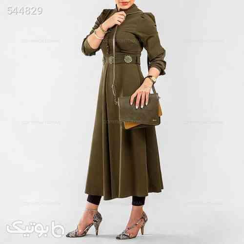 کیف دوشی زنانه مدل فراگامو سبز 99 2020