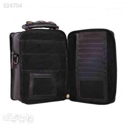 کیف دوشی چرم ما مدل 06 مشکی 99 2020