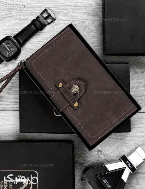 کیف پالتویی Versace مدل 14438 قهوه ای 99 2020