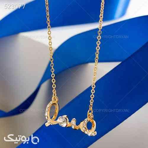 گردنبند love (طلایی)  طلایی 99 2020