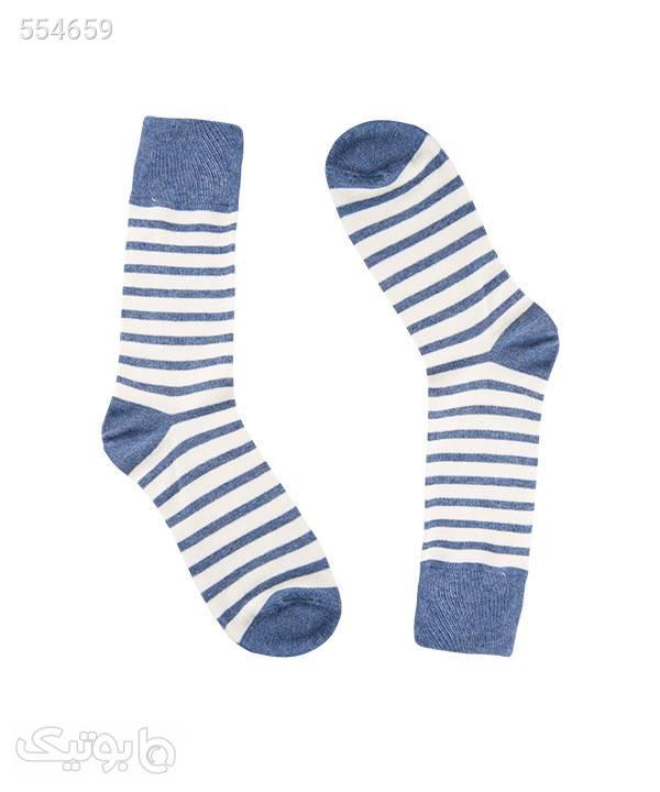 جوراب ساقدار مردانه جوتیجینز Jootijeans آبی جوراب و پاپوش