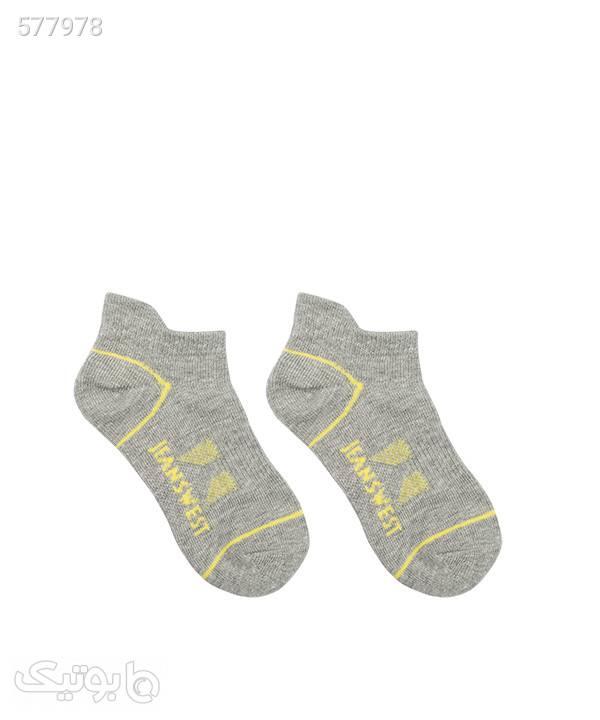 جوراب ساق کوتاه پسرانه جین وست Jeanswest بسته دو عددی آبی جوراب و پاپوش