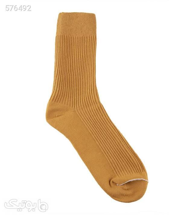 جوراب مردانه ساقدار جوتیجینز Jootijeans قهوه ای جوراب و پاپوش