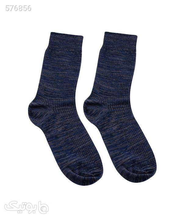 جوراب مردانه ساقدار جوتیجینز Jootijeans سورمه ای جوراب و پاپوش