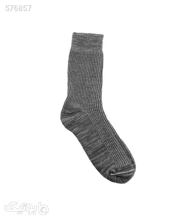جوراب مردانه ساقدار جوتیجینز Jootijeans طوسی جوراب و پاپوش