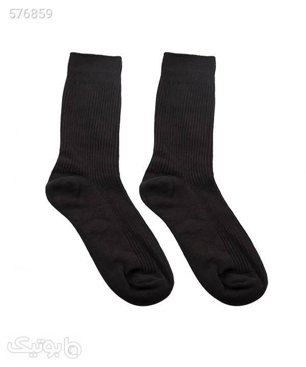 جوراب مردانه ساقدار جوتیجینز Jootijeans مشکی جوراب و پاپوش