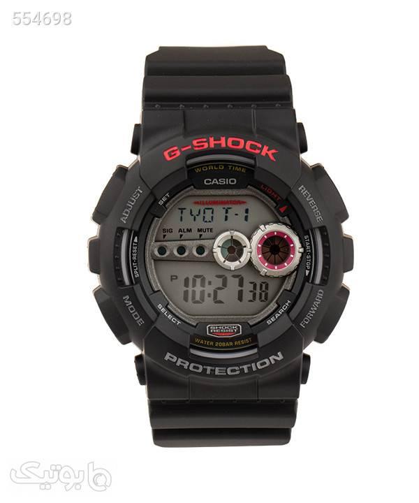 ساعت مچی دیجیتال مردانه کاسیو Casio مدل GD-100-1A مشکی ساعت
