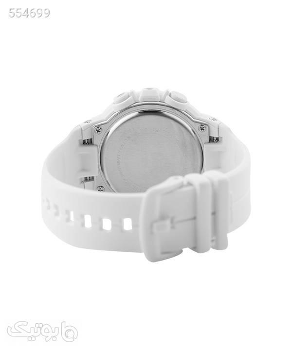 ساعت مچی زنانه اسپرت کاسیو Casio مدل BGS-100SC-7A سفید ساعت