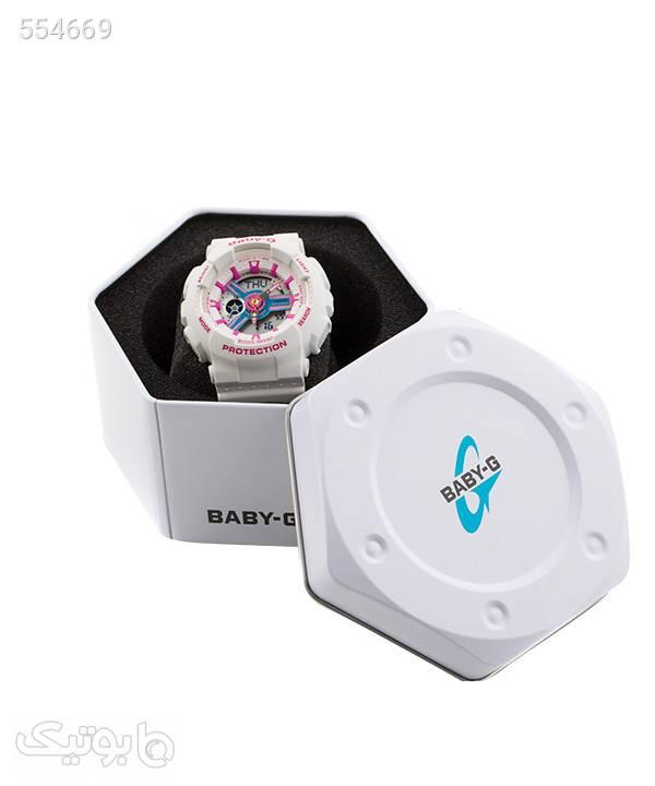 ساعت مچی زنانه کاسیو Casio مدل BA-110NR-8ADR سفید ساعت