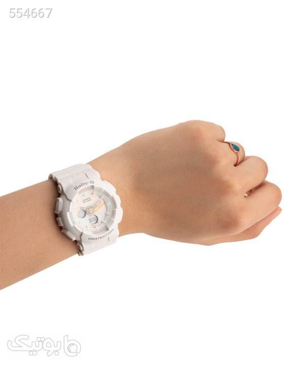 ساعت مچی زنانه کاسیو Casio مدل BA-120T-7ADR سفید ساعت
