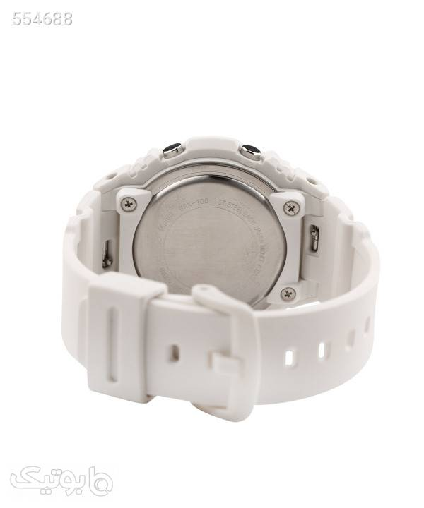 ساعت مچی زنانه کاسیو Casio مدل BAX-100-7ADR سفید ساعت