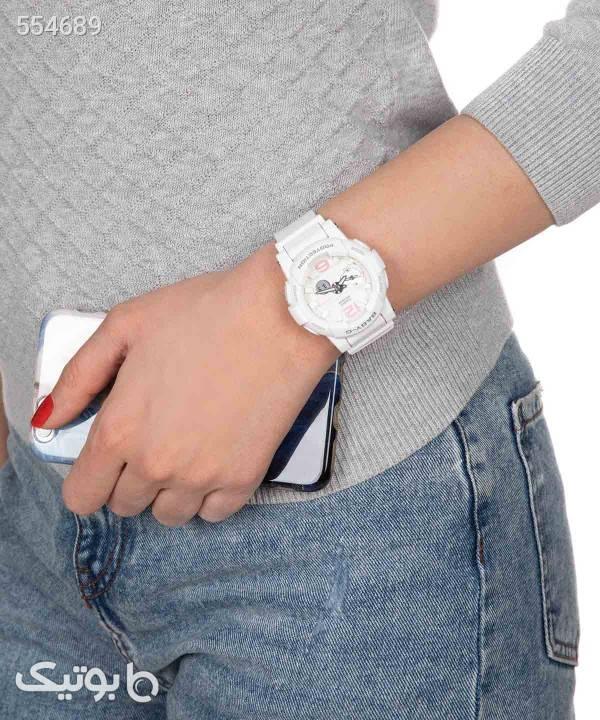 ساعت مچی زنانه کاسیو Casio مدل BGA-180BE-7BDR سفید ساعت