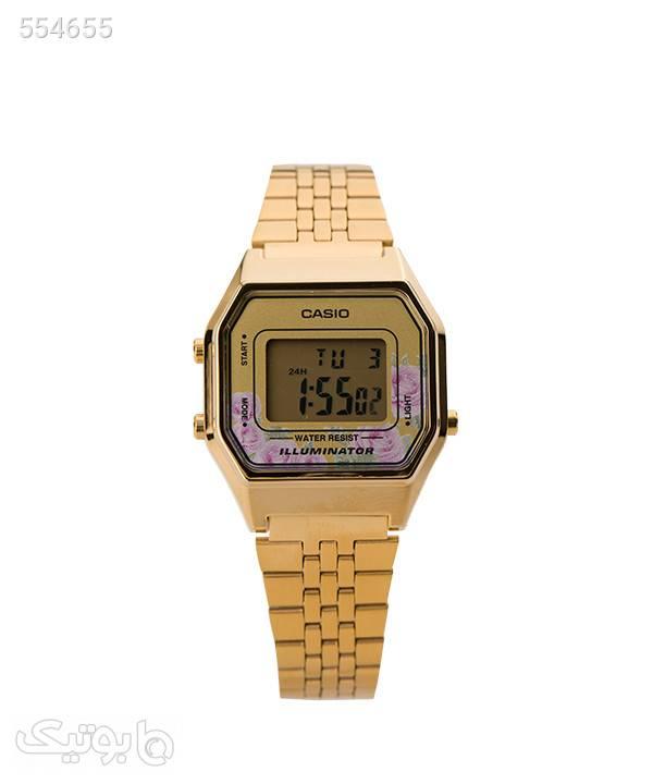 ساعت مچی زنانه کاسیو Casio مدل LA680WGA-4CDF طلایی ساعت