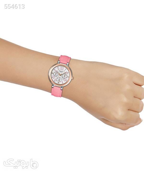 ساعت مچی زنانه کاسیو Casio مدل SHE-3034BGL-7A صورتی ساعت