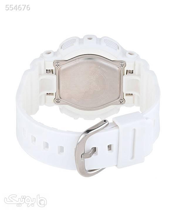 ساعت مچی عقربهای زنانه کاسیو Casio مدل BA-110GA-7A1 سفید ساعت